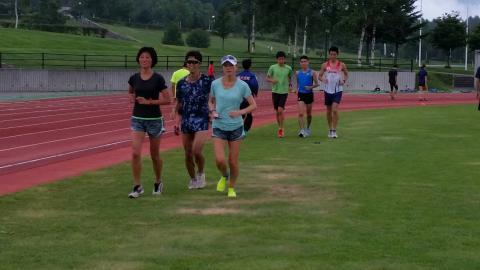 af50b86e6a 昨年同様、2020東京パラリンピックを目指すブラインドマラソンランナーと共に4泊5日間、走って→食べて→寝る→走る・・・の生活を送ってきました。